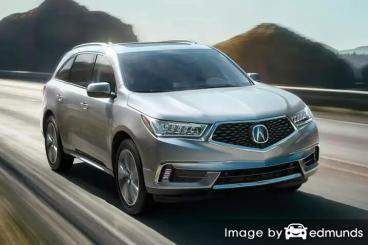 Insurance quote for Acura MDX in Jacksonville