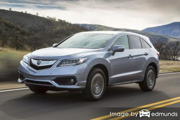 Discount Acura RDX insurance