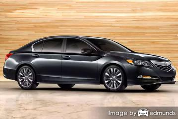 Insurance rates Acura RLX in Jacksonville