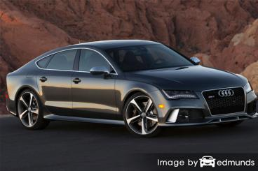 Insurance rates Audi RS7 in Jacksonville