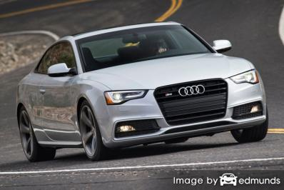Insurance quote for Audi S5 in Jacksonville