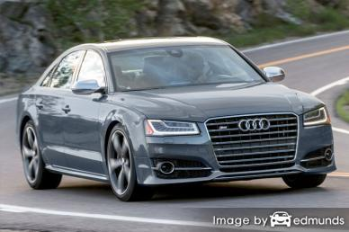 Insurance quote for Audi S8 in Jacksonville