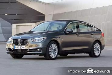 Insurance rates BMW 535i in Jacksonville