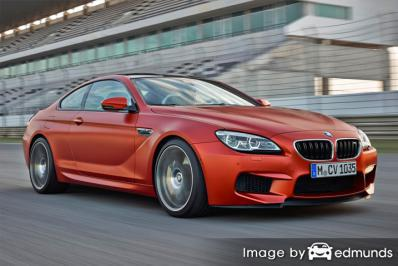 Insurance rates BMW M6 in Jacksonville