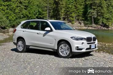 Insurance quote for BMW X5 in Jacksonville