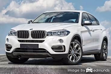 Insurance quote for BMW X6 in Jacksonville