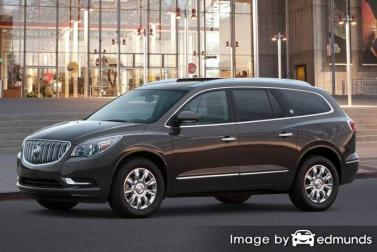 Insurance rates Buick Enclave in Jacksonville