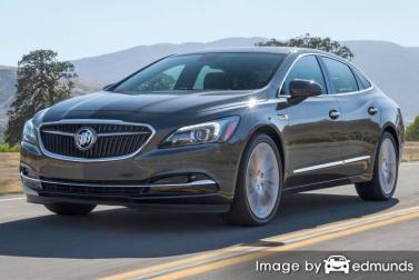 Insurance rates Buick LaCrosse in Jacksonville
