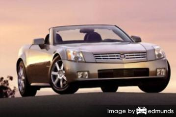 Insurance rates Cadillac XLR in Jacksonville