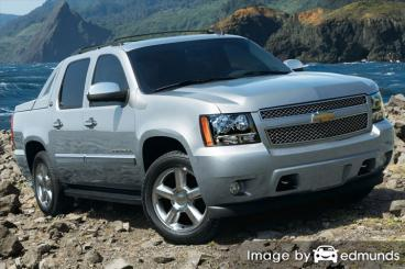 Insurance quote for Chevy Avalanche in Jacksonville