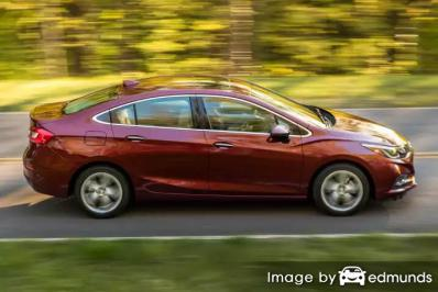 Insurance rates Chevy Cruze in Jacksonville