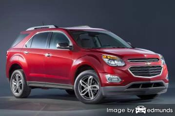 Insurance quote for Chevy Equinox in Jacksonville