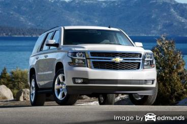 Insurance rates Chevy Tahoe in Jacksonville