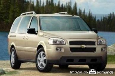 Insurance rates Chevy Uplander in Jacksonville
