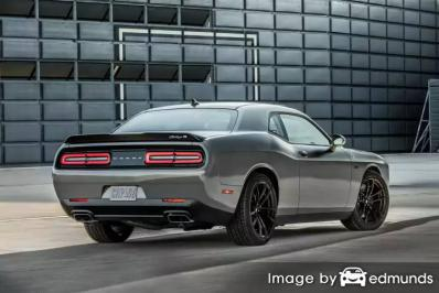 Insurance rates Dodge Challenger in Jacksonville