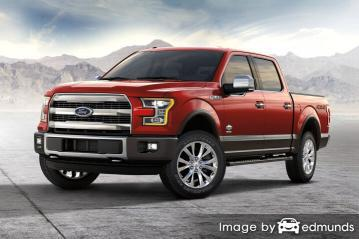 Insurance rates Ford F-150 in Jacksonville