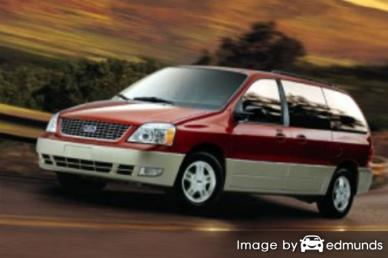 Insurance quote for Ford Freestar in Jacksonville