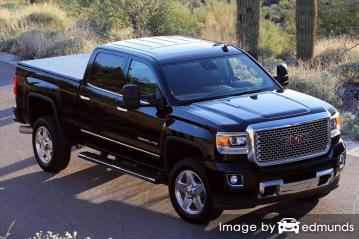 Insurance quote for GMC Sierra 2500HD in Jacksonville