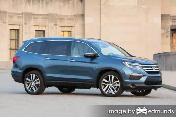 Insurance quote for Honda Pilot in Jacksonville