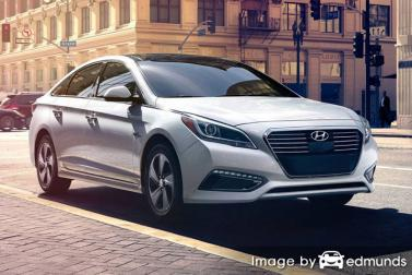 Insurance quote for Hyundai Sonata Hybrid in Jacksonville