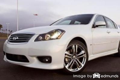 Insurance quote for Infiniti M45 in Jacksonville
