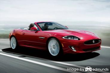 Insurance quote for Jaguar XK in Jacksonville