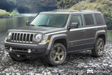 Insurance quote for Jeep Patriot in Jacksonville