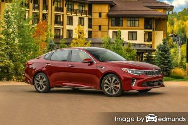 Insurance quote for Kia Optima in Jacksonville