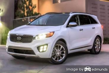 Insurance quote for Kia Sorento in Jacksonville