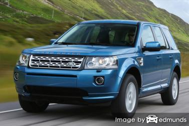 Discount Land Rover LR2 insurance