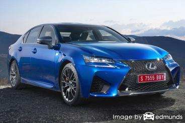 Insurance quote for Lexus GS F in Jacksonville