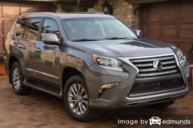 Insurance quote for Lexus GX 460 in Jacksonville