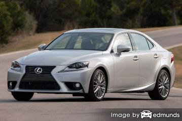 Insurance rates Lexus IS 250 in Jacksonville