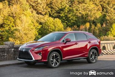 Insurance rates Lexus RX 450h in Jacksonville
