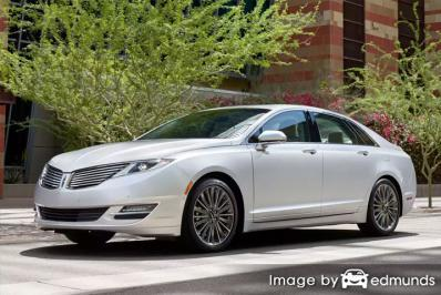 Discount Lincoln MKZ insurance