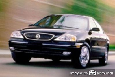 Insurance quote for Mercury Sable in Jacksonville