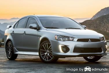 Insurance rates Mitsubishi Lancer in Jacksonville