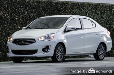 Insurance for Mitsubishi Mirage G4