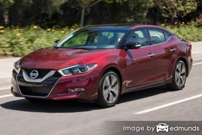 Insurance rates Nissan Maxima in Jacksonville