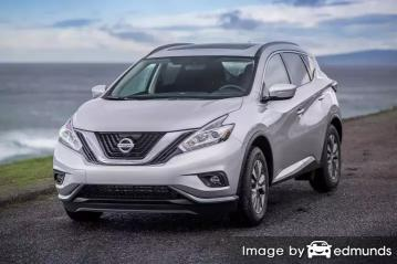 Insurance rates Nissan Murano in Jacksonville