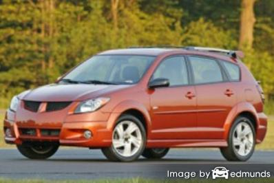 Insurance quote for Pontiac Vibe in Jacksonville