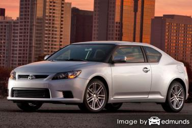 Insurance quote for Scion tC in Jacksonville