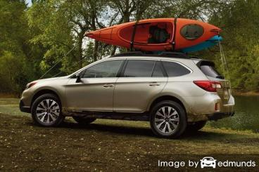 Insurance rates Subaru Outback in Jacksonville