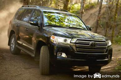 Insurance rates Toyota Land Cruiser in Jacksonville