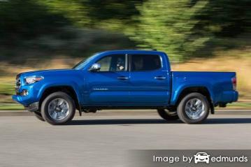 Insurance quote for Toyota Tacoma in Jacksonville