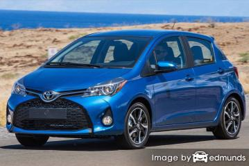 Insurance quote for Toyota Yaris in Jacksonville