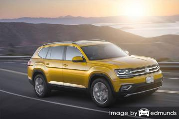 Insurance rates Volkswagen Atlas in Jacksonville